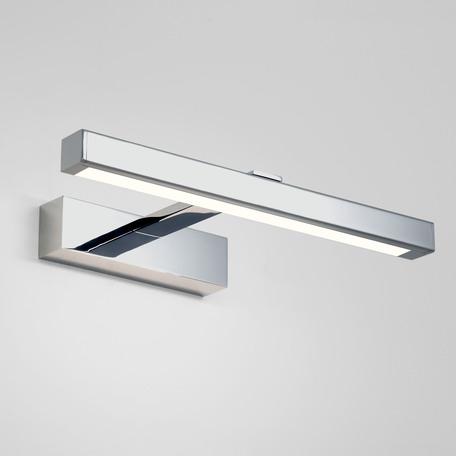 Настенный светодиодный светильник для подсветки зеркал Astro Kashima LED 1174003 (7348), IP44, LED 4,53W 3000K 165lm CRI80, хром, металл, пластик - миниатюра 1