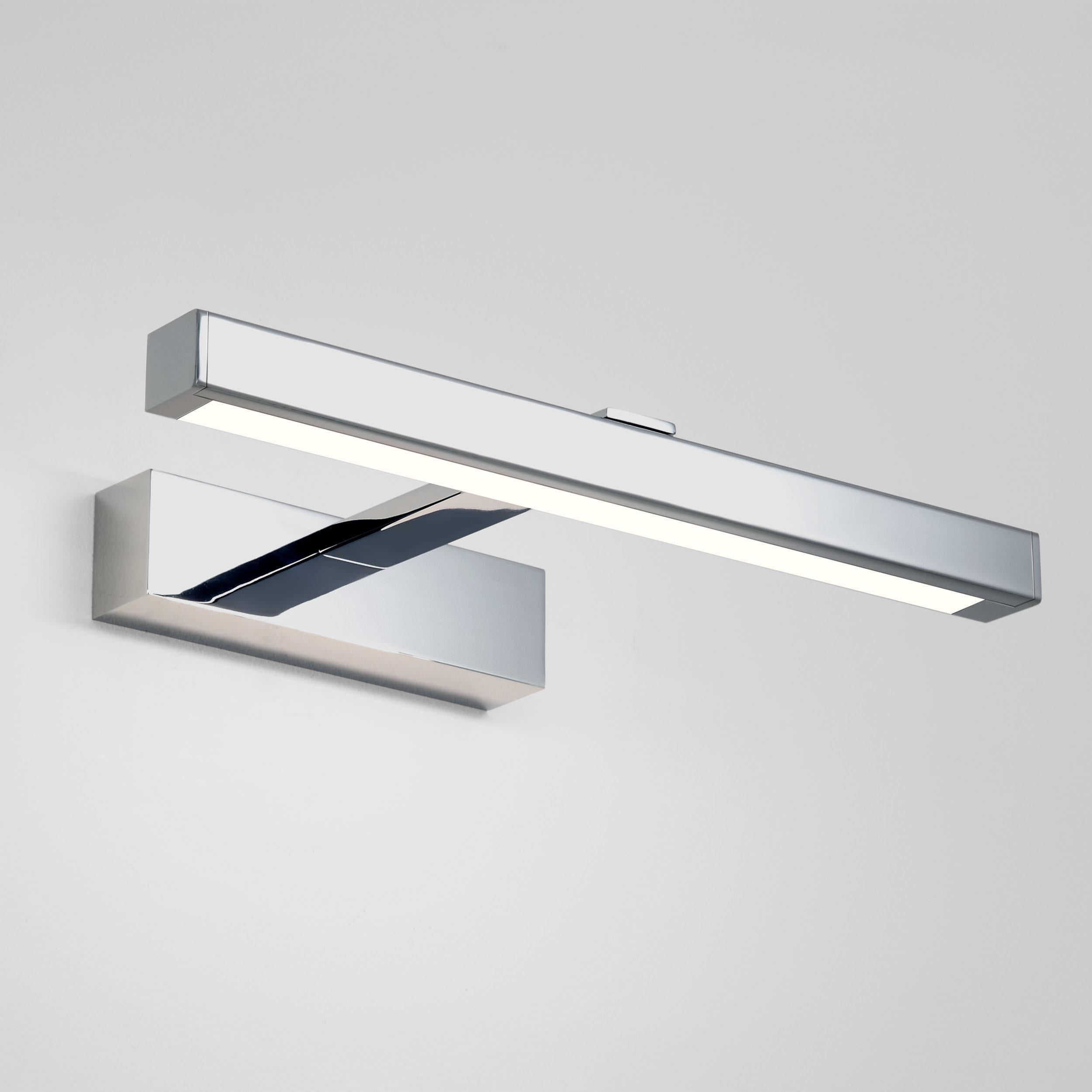 Настенный светодиодный светильник для подсветки зеркал Astro Kashima LED 1174003 (7348), IP44, LED 4,53W 3000K 165lm CRI80, хром, металл, пластик - фото 1