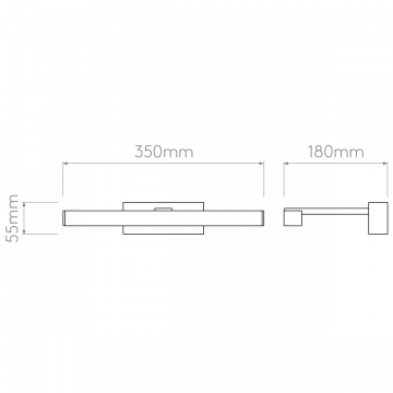 Схема с размерами Astro 1174003