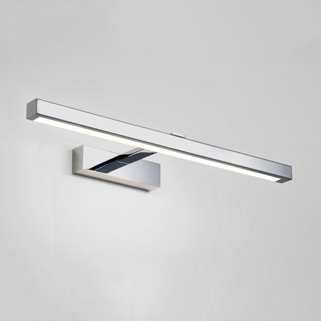 Настенный светодиодный светильник для подсветки зеркал Astro Kashima LED 1174004 (7349), IP44, LED 8,24W 3000K 387lm CRI80, хром, металл, пластик