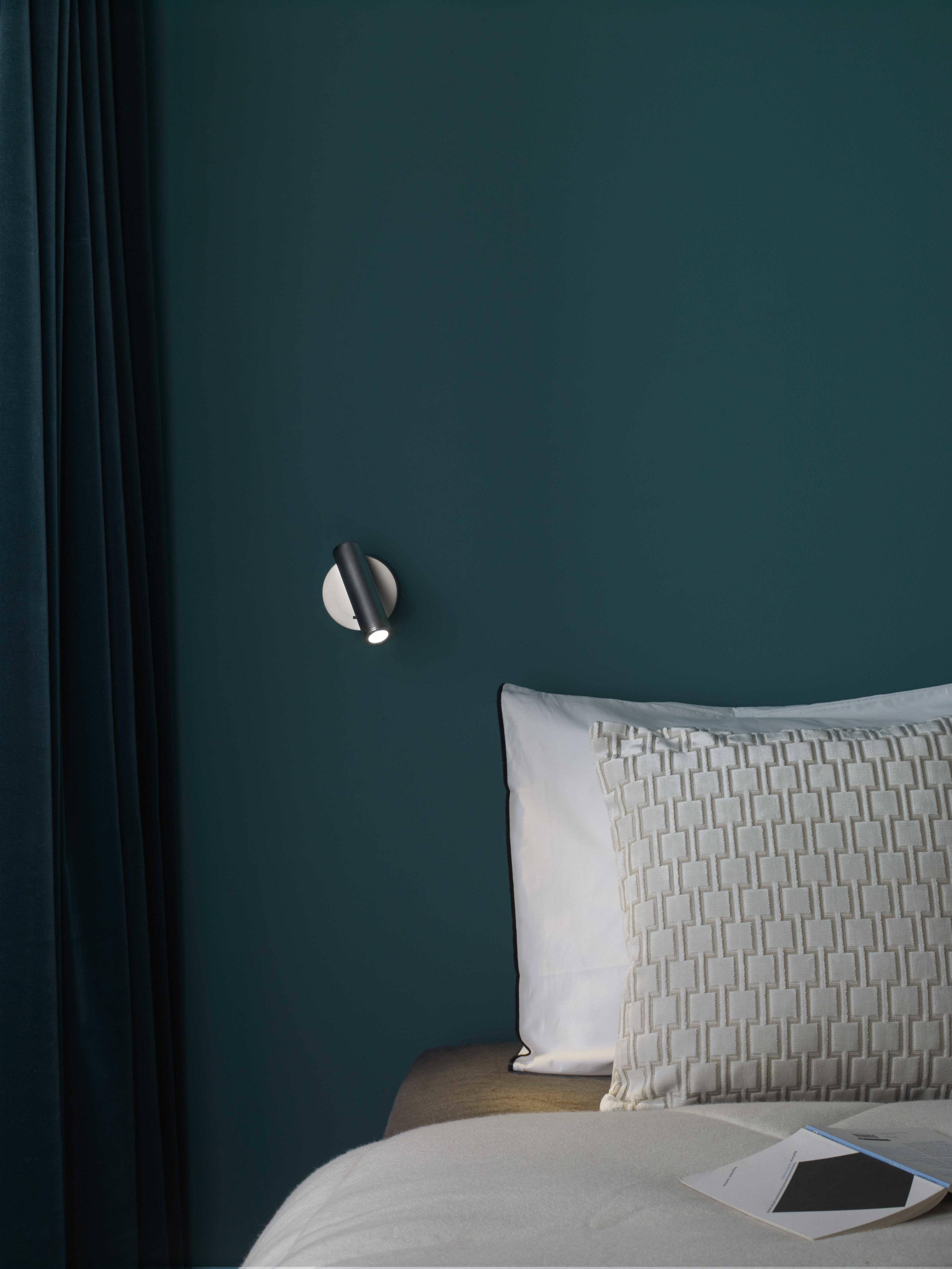 Настенный светодиодный светильник с регулировкой направления света Astro Enna LED 1058013 (7357), LED 4,47W 2700K 111.44lm CRI80, никель, металл - фото 3