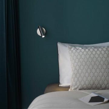 Настенный светодиодный светильник с регулировкой направления света Astro Enna LED 1058014 (7358), LED 4,47W 2700K 111.44lm CRI80, хром, металл - миниатюра 2