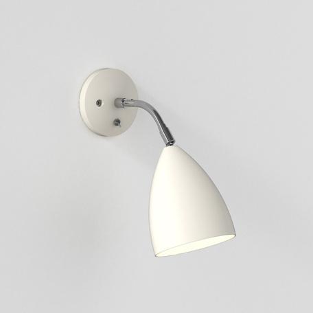 Настенный светильник с регулировкой направления света Astro Joel 1223015 (7158), 1xE27x42W, бежевый, металл