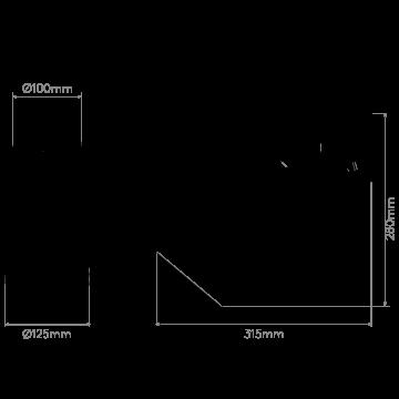 Схема с размерами Astro 1223015