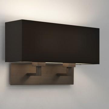 Основание бра Astro Park Lane 1080021 (7064), 2xE27x60W, бронза, металл - миниатюра 2
