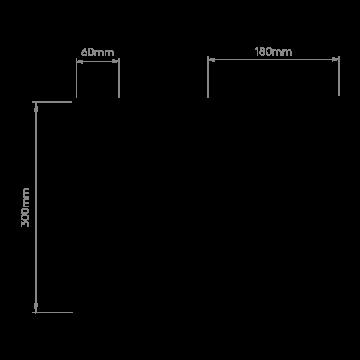 Схема с размерами Astro 1222012
