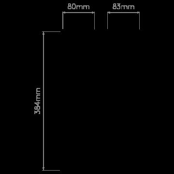 Схема с размерами Astro 1334002