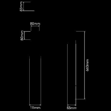 Схема с размерами Astro 1356002