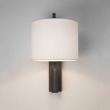 Основание бра с дополнительной подсветкой Astro Ravello LED 1222020 (7459), 1xE27x40W 2700K (теплый), бронза, металл - миниатюра 2