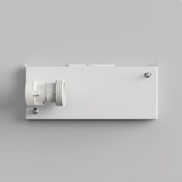 Основание настенного светильника Astro Backplate 1367002 (7097), 1xE27x60W, белый, металл