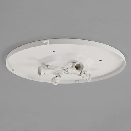 Основание потолочного светильника Astro 4-Way Plate 1296002 (7057), 4xE27x60W, белый, металл