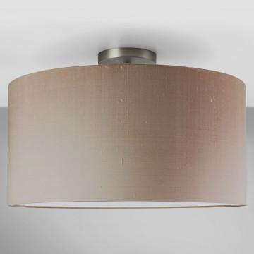 Основание потолочного светильника Astro Semi Flush Unit 1362002 (7461), 1xE27x60W, никель, металл - миниатюра 3