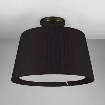 Основание потолочного светильника Astro Semi Flush Unit 1362003 (7462), 1xE27x60W, бронза, металл - миниатюра 2