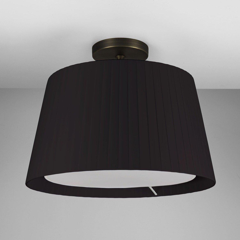 Основание потолочного светильника Astro Semi Flush Unit 1362003 (7462), 1xE27x60W, бронза, металл - фото 2
