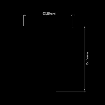 Схема с размерами Astro 1362003