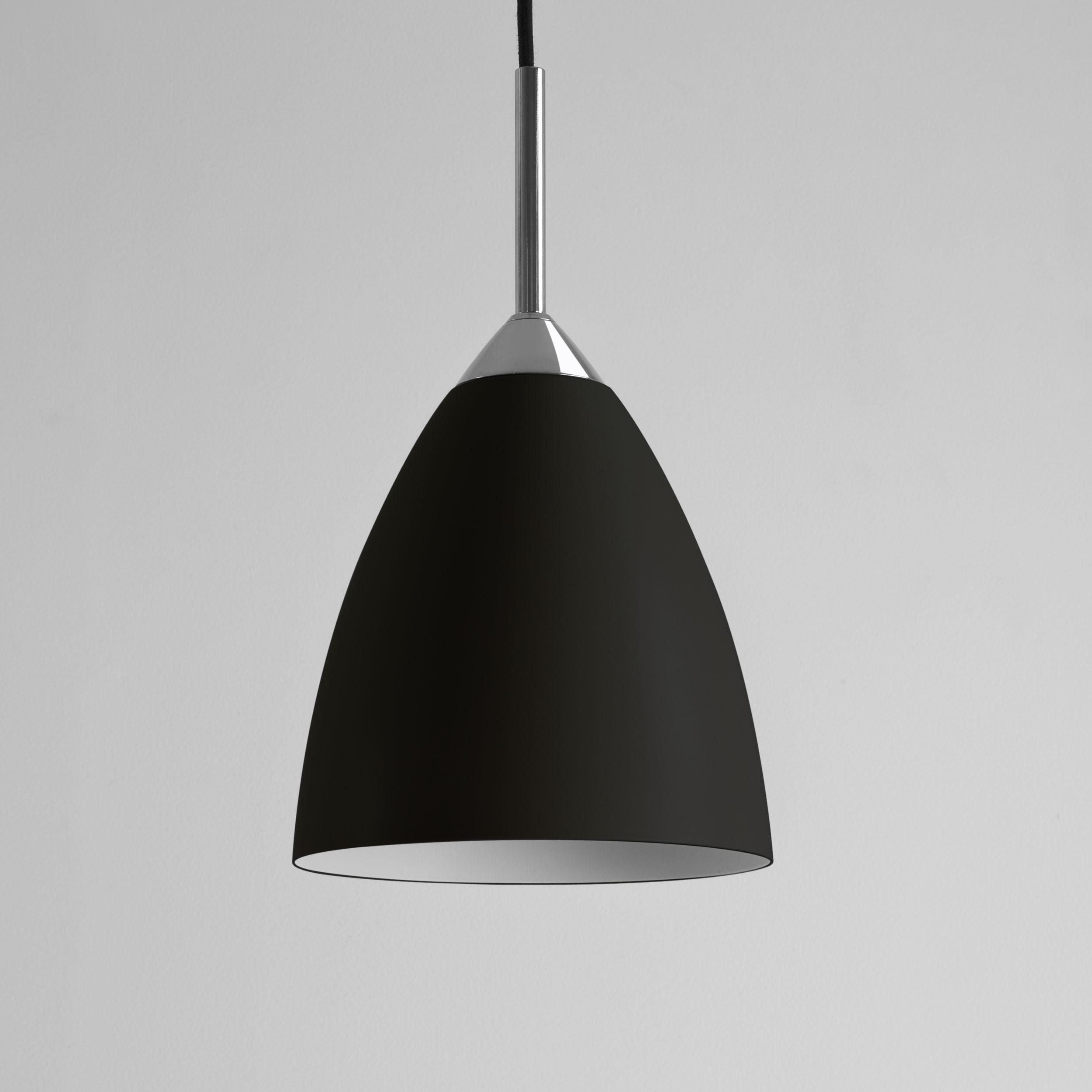 Подвесной светильник Astro Joel 1223018 (7194), 1xE27x42W, хром, черный, металл - фото 1