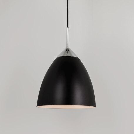 Подвесной светильник Astro Joel 1223023 (7415), 1xE27x72W, хром, черный, металл - миниатюра 1