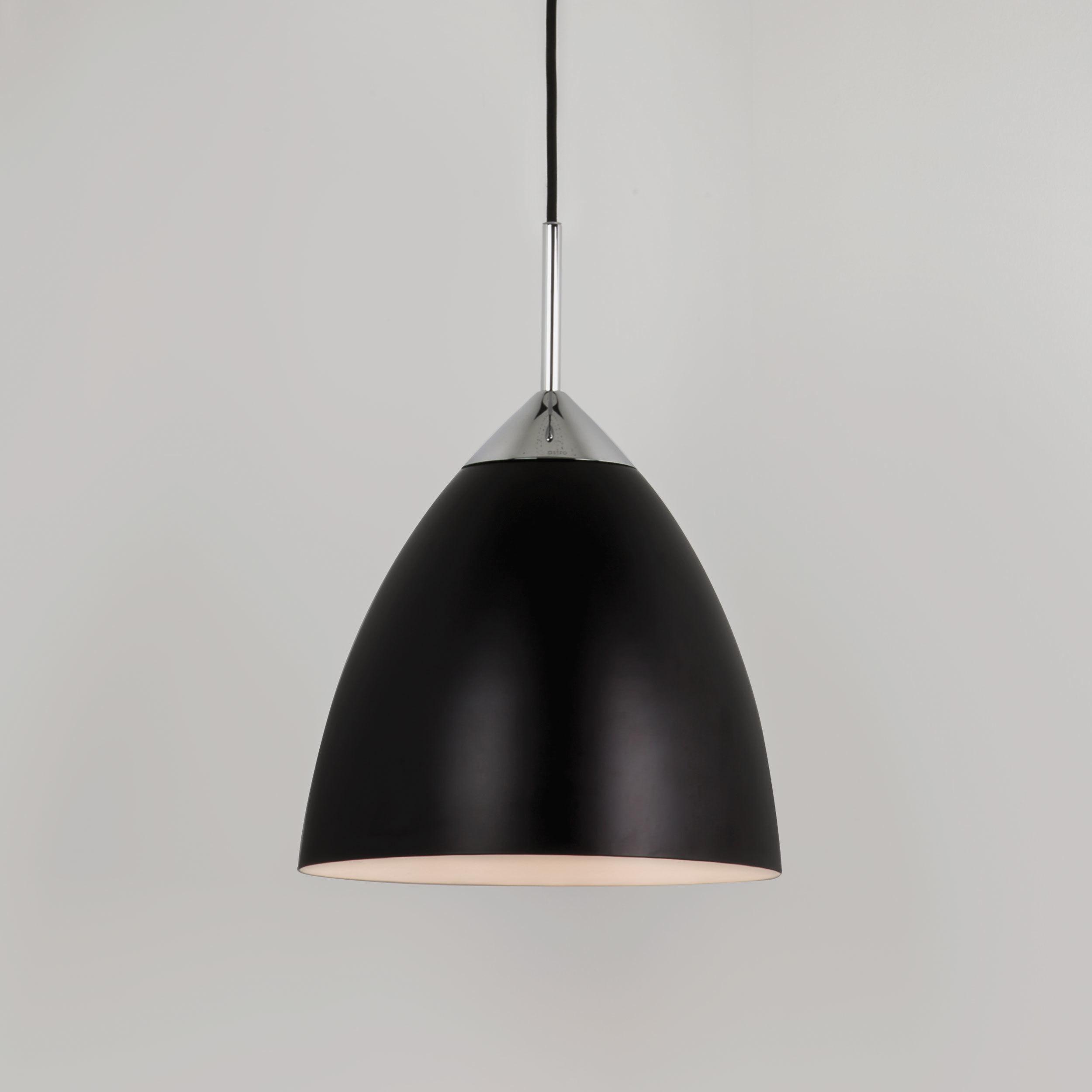 Подвесной светильник Astro Joel 1223023 (7415), 1xE27x72W, хром, черный, металл - фото 1