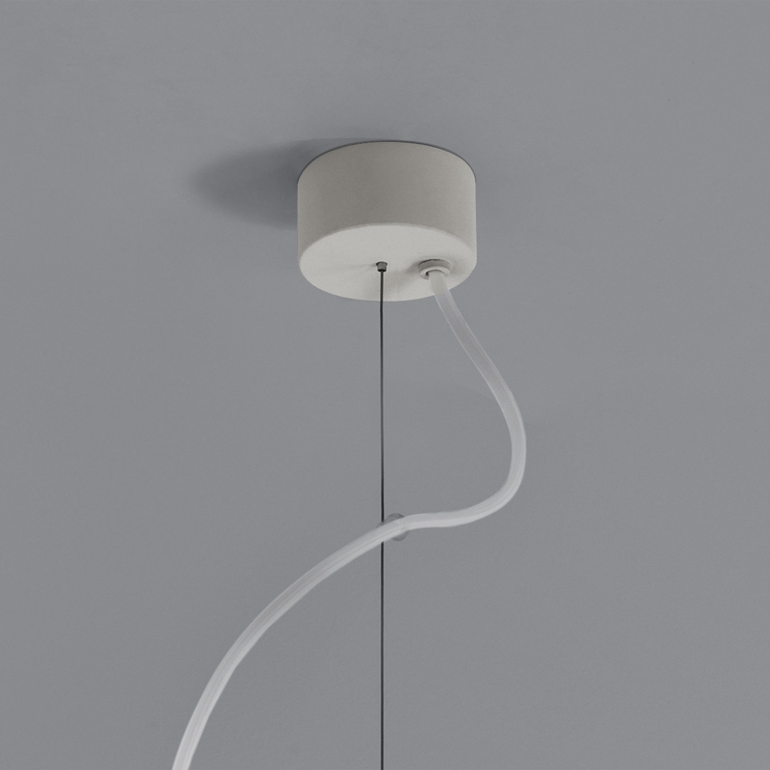 Подвесной светильник Astro Osca 1252014 (7386), 1xGU10x13W, белый, под покраску, металл, гипс - фото 2