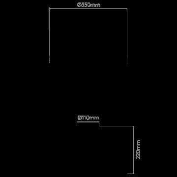 Схема с размерами Astro 1324001