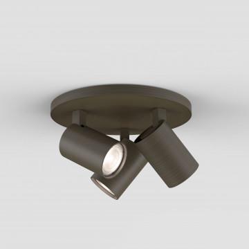 Потолочная люстра с регулировкой направления света Astro Ascoli 1286005 (6146), 3xGU10x50W, бронза, металл