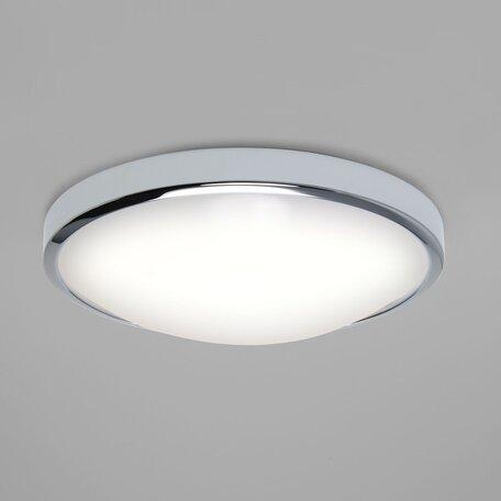Потолочный светодиодный светильник Astro Osaka LED 1061005 (7411), IP44, LED 22,41W, 3000K (теплый), белый, хром, металл, пластик