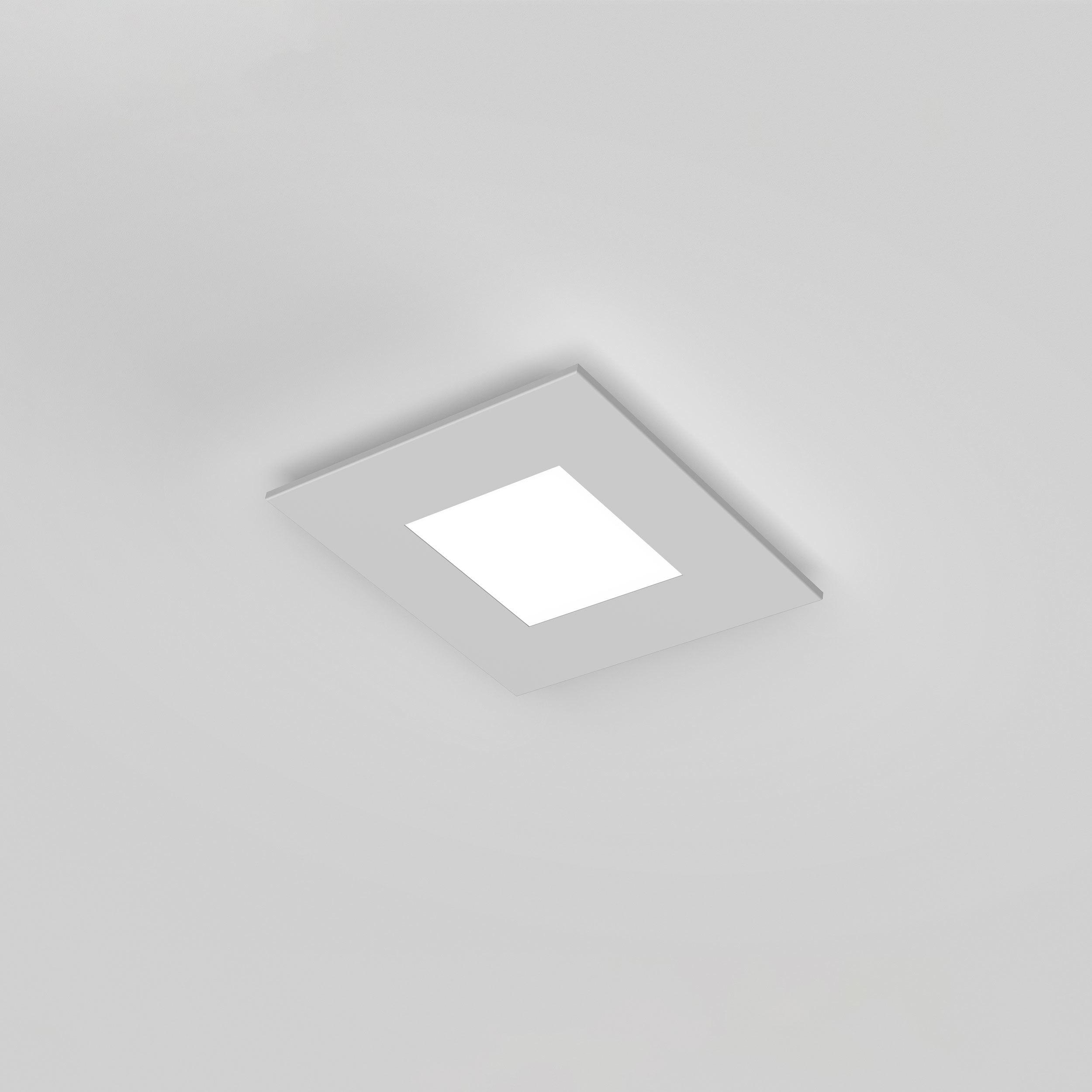Потолочный светодиодный светильник Astro Zero 1382001 (7419), LED 15,4W 2700K 806.6lm CRI>80, белый, металл со стеклом/пластиком, пластик - фото 1