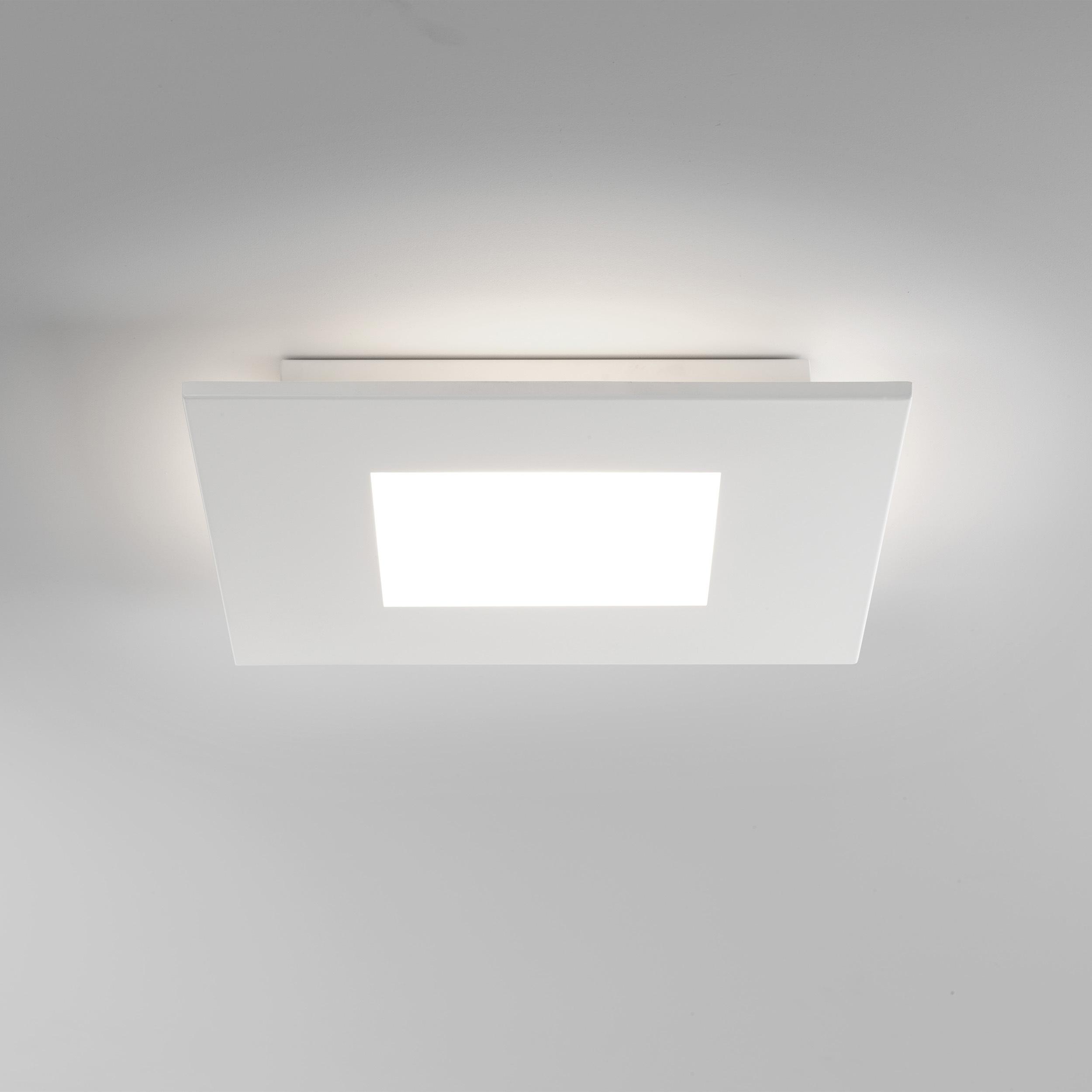 Потолочный светодиодный светильник Astro Zero 1382001 (7419), LED 15,4W 2700K 806.6lm CRI>80, белый, металл со стеклом/пластиком, пластик - фото 2