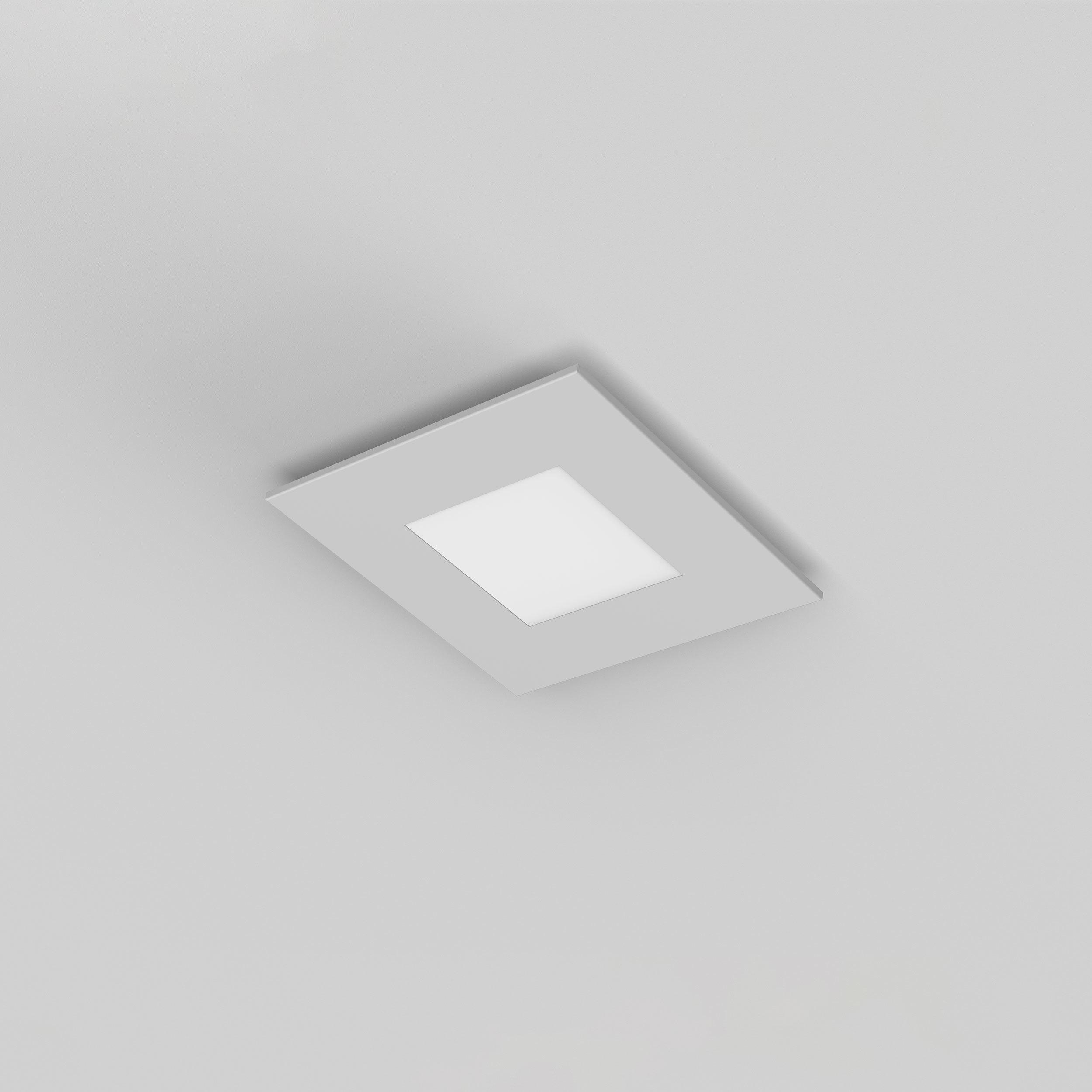 Потолочный светодиодный светильник Astro Zero 1382001 (7419), LED 15,4W 2700K 806.6lm CRI>80, белый, металл со стеклом/пластиком, пластик - фото 3