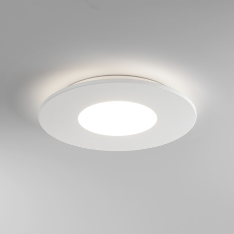 Потолочный светодиодный светильник Astro Zero 1382002 (7420), LED 16,6W 2700K 810.3lm CRI>80, белый, металл со стеклом/пластиком, пластик