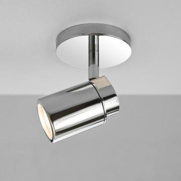 Потолочный светильник с регулировкой направления света Astro Como 1282001 (6106), IP44, 1xGU10x35W, хром, металл, стекло