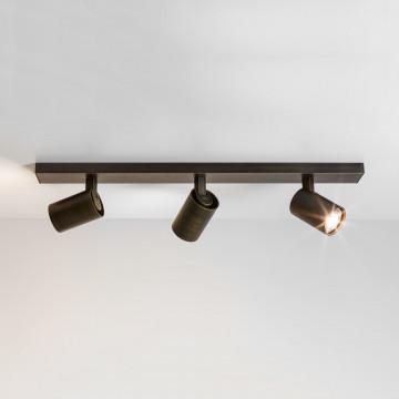 Потолочный светильник с регулировкой направления света Astro Ascoli 1286006 (6147), 3xGU10x50W, бронза, металл