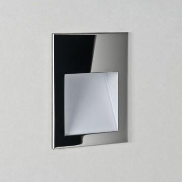 Встраиваемый настенный светодиодный светильник Astro Borgo 1212009 (7088), IP65, LED 2W 3000K (теплый), хром, металл, стекло