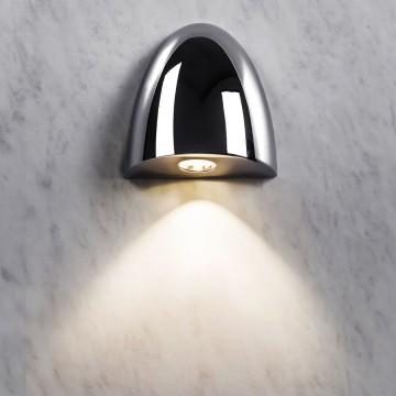 Встраиваемый настенный светодиодный светильник Astro Orpheus LED 1348001 (7369), IP65, LED 2W 2700K (теплый) 65,6lm, хром