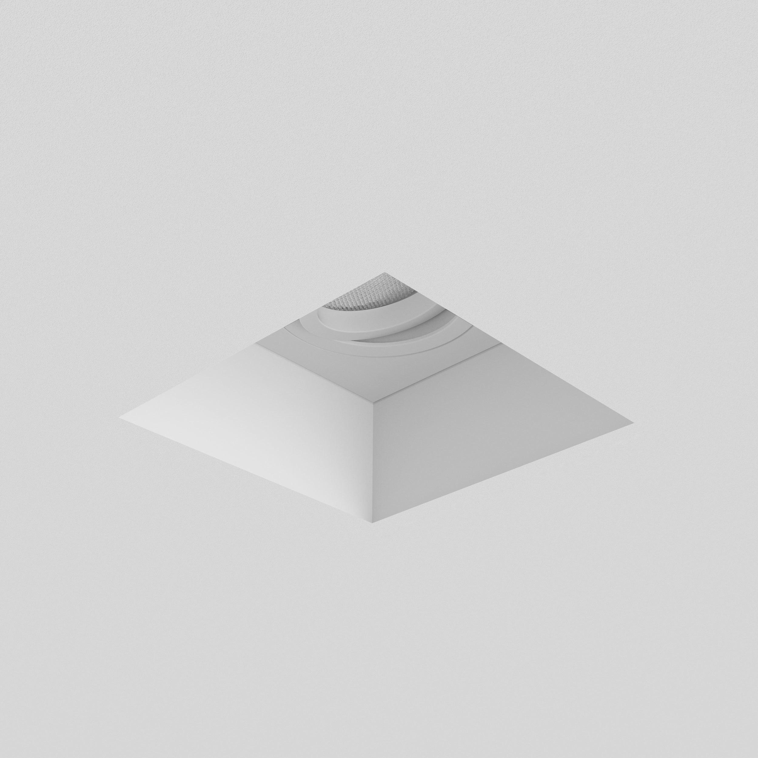 Встраиваемый светильник Astro Blanco 1253007 (7345), 1xGU10x50W, белый, под покраску, гипс, металл - фото 2