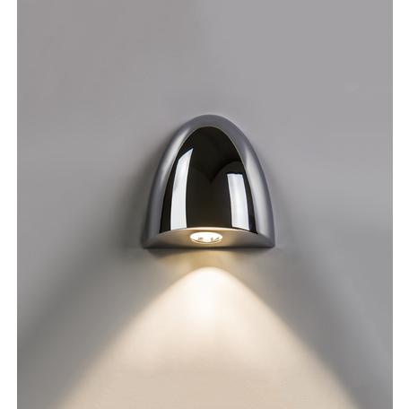 Встраиваемый настенный светодиодный светильник Astro Orpheus LED 1348001 (7369), IP65, 2700K (теплый), хром, металл, стекло