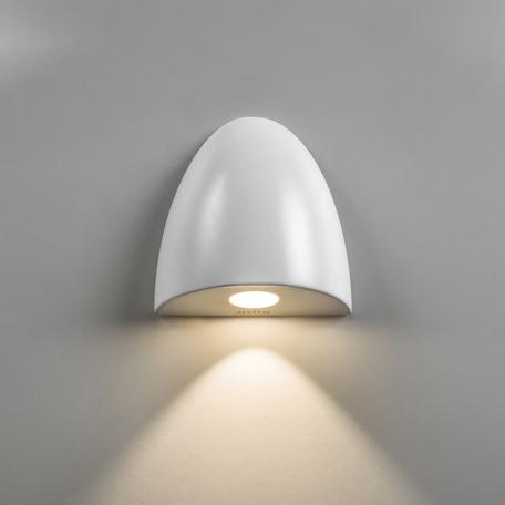 Встраиваемый настенный светодиодный светильник Astro Orpheus LED 1348002 (7370), IP65, 2700K (теплый), белый, металл, стекло