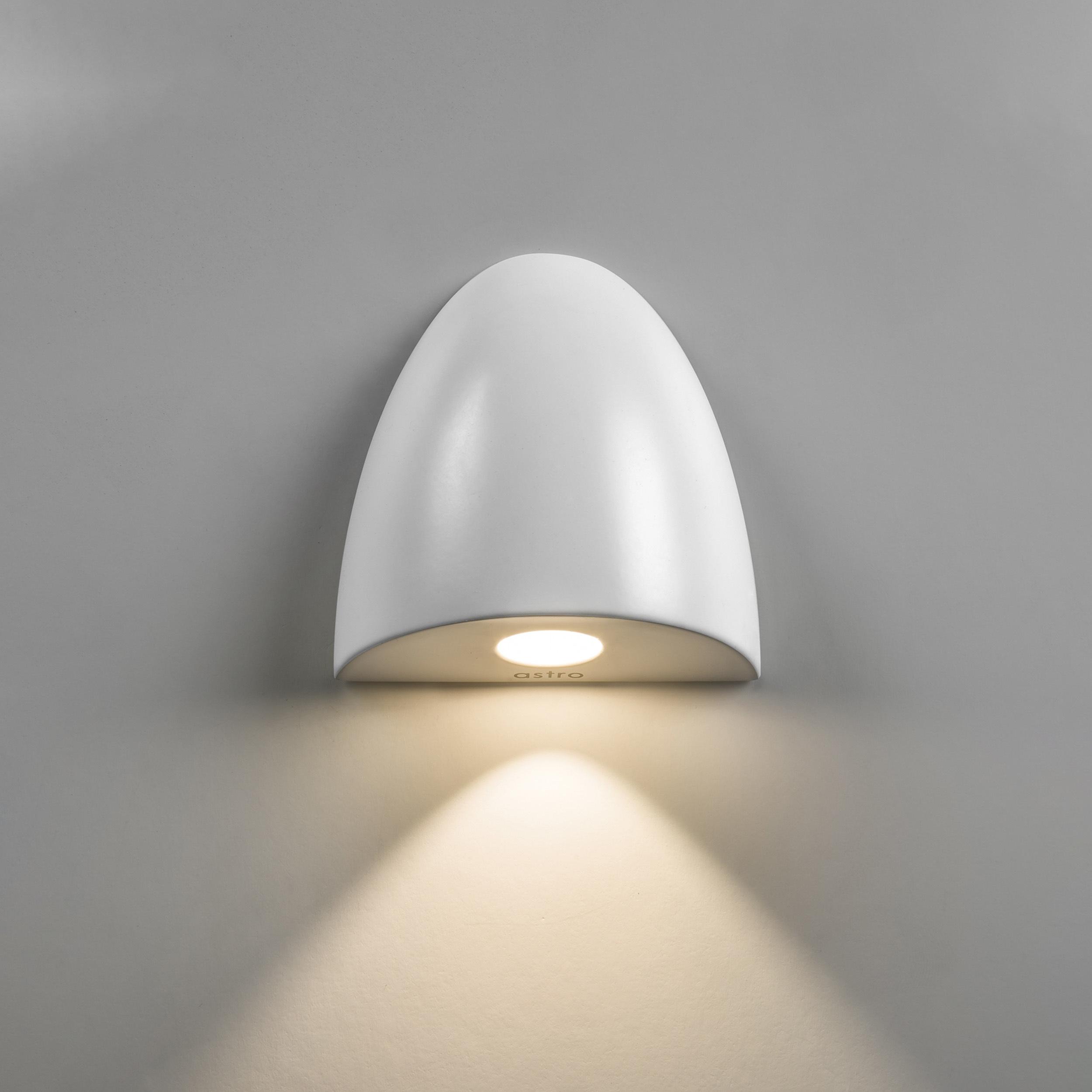 Встраиваемый настенный светодиодный светильник Astro Orpheus LED 1348002 (7370), IP65, LED 2W 2700K 65.6lm CRI80, белый, металл, стекло - фото 1