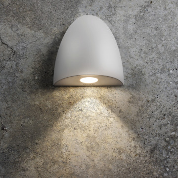 Встраиваемый настенный светодиодный светильник Astro Orpheus LED 1348002 (7370), IP65, LED 2W 2700K 65.6lm CRI80, белый, металл, стекло - миниатюра 2