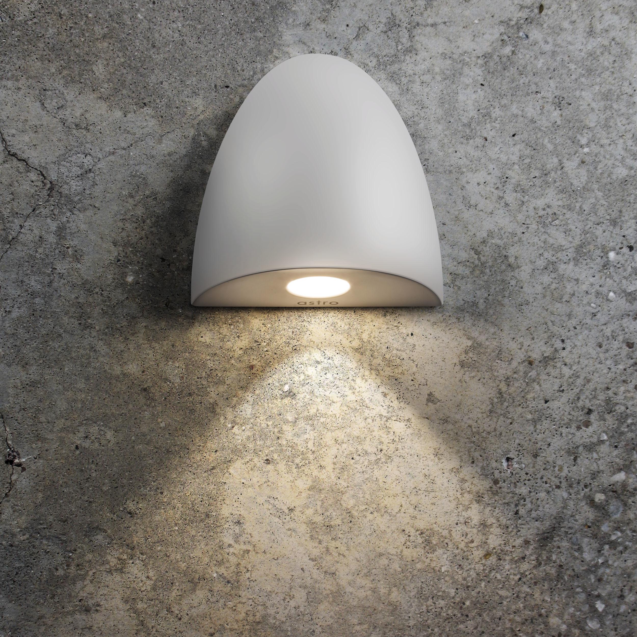 Встраиваемый настенный светодиодный светильник Astro Orpheus LED 1348002 (7370), IP65, LED 2W 2700K 65.6lm CRI80, белый, металл, стекло - фото 2
