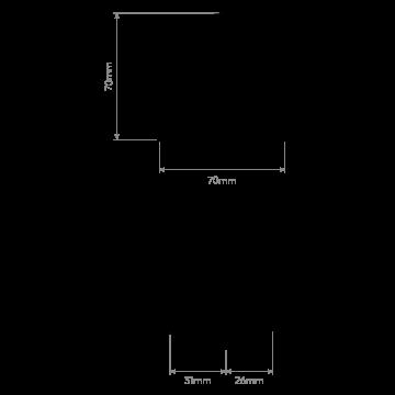 Схема с размерами Astro 1348002