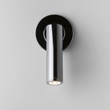 Встраиваемый настенный светодиодный светильник с регулировкой направления света Astro Enna LED 1058008 (7337), LED 2W 2700K 111.44lm CRI80, хром, металл