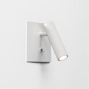 Встраиваемый настенный светодиодный светильник с регулировкой направления света Astro Enna 1058016 (7360), LED 4,47W 2700K 111.44lm CRI80, белый, металл