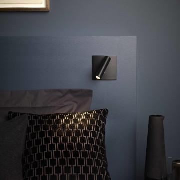 Встраиваемый настенный светодиодный светильник с регулировкой направления света Astro Enna 1058018 (7362), LED 4,47W 2700K 111.44lm CRI80, никель, металл - миниатюра 3