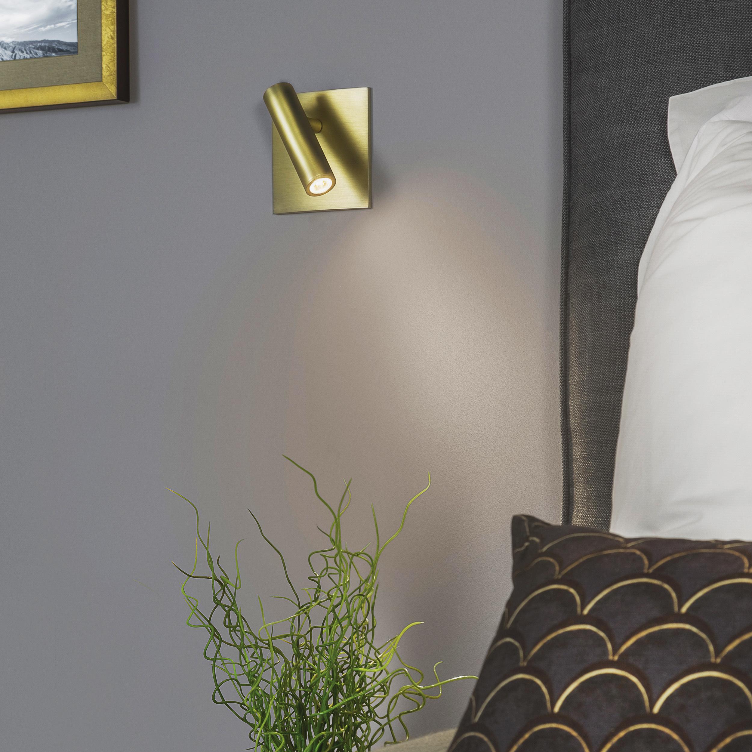 Встраиваемый настенный светодиодный светильник с регулировкой направления света Astro Enna 1058018 (7362), LED 4,47W 2700K 111.44lm CRI80, никель, металл - фото 4