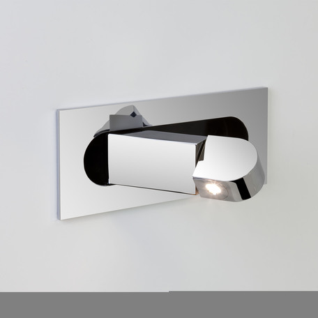 Встраиваемый настенный светодиодный светильник с регулировкой направления света Astro Digit LED 1323001 (7164) 2700K (теплый), хром, металл