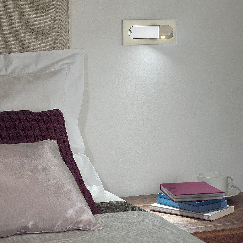 Встраиваемый настенный светодиодный светильник с регулировкой направления света Astro Digit LED 1323002 (7165) 2700K (теплый), никель, металл - фото 4