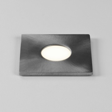 Встраиваемый в уличное покрытие светодиодный светильник Astro Terra 1201004 (7200), IP65, LED 1W 3000K 51.82lm CRI80, сталь, металл, стекло