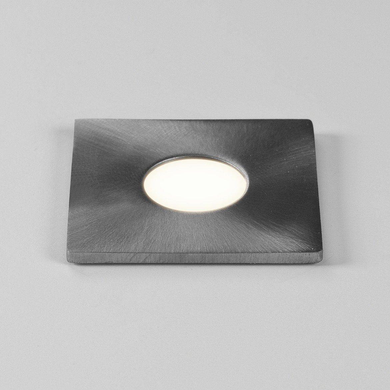 Встраиваемый в уличное покрытие светодиодный светильник Astro Terra 1201004 (7200), IP65, LED 1W 3000K 51.82lm CRI80, сталь, металл, стекло - фото 1