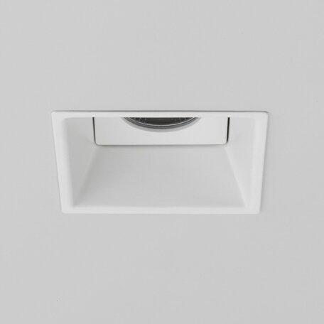 Встраиваемый светодиодный светильник Astro Minima 1249014 (5771), IP65, LED 6,5W 2700K 538.96lm CRI82, белый, черно-белый, металл
